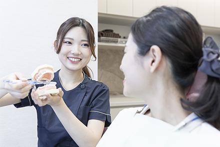予防歯科専用フロアでできること